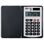 Office Depot Taschenrechner AT 809 8 stelliges Display Schwarz, Silber