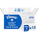 Kleenex Falthandtücher Ultra Super Soft 3 lagig Z falz Weiss 30 Stück à 96 Blatt