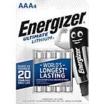 Energizer Lithium Batterien 627326 AAA 4 Stück