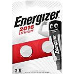 Energizer Knopfzellen Lithium CR2016 2 Stück