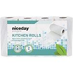 Niceday Professional Küchenrolle Standard 2 lagig 4 Stück à 42 Blatt