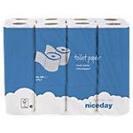 Niceday Toilettenpapier Standard 2 lagig 24 Stück à 200 Blatt
