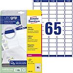AVERY Zweckform Adressetiketten L7651 25 Ultragrip Weiss 38,1 x 21,2 mm 25 Blatt à 65 Etiketten