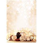 Sigel Weihnachts Briefpapier Zimtsterne A4 90 g