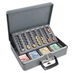 Wedo Geldkassette Maxi Grau 37 x 29 x 11 cm