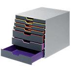 DURABLE Schubladenbox VARICOLOR 7 ABS Grau 29,2 x 35,6 x 28 cm