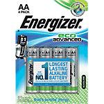 Energizer Batterien Eco Advanced AA 4 Stück