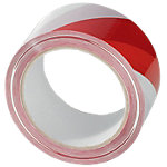 Citius International Signalklebeband Rot Weiß 50 mm x 66 m Rot, Weiß