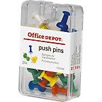 Office Depot Reissnägel Farbig assortiert 25 Stück