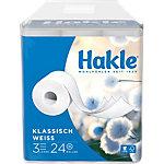 Hakle Toilettenpapier Klassisch weiß 3 lagig 24 Rollen à 150 Blatt