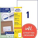 AVERY Zweckform Universaletiketten 3478 200 Ultragrip Weiss 210 x 297 mm 220 Blatt à 1 Etiketten