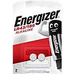Energizer Knopfzellen LR43 1,5 V Alkali Mangan 2 Stück