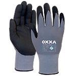 Oxxa Handschuhe X Pro Flex Air Polyurethan Größe M Schwarz, Grau 2 Stück