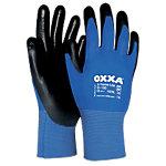 Oxxa Handschuhe X Treme Lite Polyurethan Größe XXL Schwarz, Blau 2 Stück