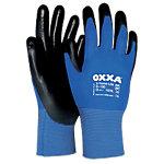 Oxxa Handschuhe X Treme Lite Polyurethan Größe M Schwarz, Blau 2 Stück