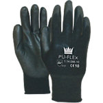 Handschuhe Flex Polyurethan Größe L Schwarz 1 Paar à 2 Handschuh