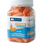 M Safe Einweg Ohrstöpsel 8011 R Schaumstoff Universal Orange 50 Stück