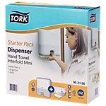 Tork Handtuchspender Starterpaket Multifold Kunststoff Weiß 30,2 x 10,1 x 29,5 cm
