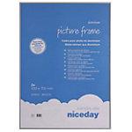 Niceday Bilderrahmen 978910 PK2 Spezial Grau 700 x 500 mm 2 Stück