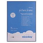 Niceday Bilderrahmen 50 x 70 cm Blau 50 x 70 cm 2 Stück