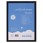 Niceday Bilderrahmen Certificate Frame A4 Schwarz