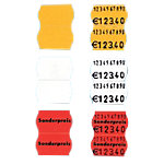 SATO Etikettenrolle Weiss 2.6 x 1.6 cm 1200 Stück
