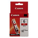 Canon BCI 6R Original Tintenpatrone Rot