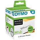 DYMO LW Adressetiketten 99010 Schwarz auf Weiss 28 mm x 89 mm