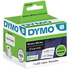 DYMO LW Versandetiketten 99014 Schwarz auf Weiss 54 mm x 101 mm