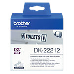 Brother Endlosetiketten DK 22212 62 x 62 mm Weiss