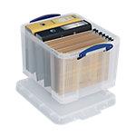 Really Useful Box Aufbewahrungsbox 35CCB 35 l Transparent Kunststoff 48 x 39 x 31 cm