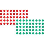 Franken Moderationskarten Rot, Grün 1040 Stück