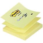 Post it Haftnotizen 76 x 76 mm Gelb 100 Blatt
