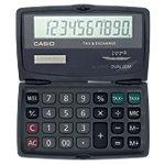 Casio Taschenrechner SL 210TE 10 stelliges Display Schwarz