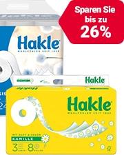 Ab CHF4.95 Hakle Toilettenpapier