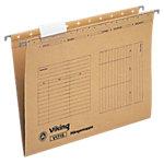 Viking Hängeregistraturen V1715 DIN A4 Braun Manilakarton 25 Stück