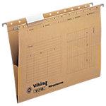 Viking Hängetasche V1716 DIN A4 Braun Manilakarton 25 Stück