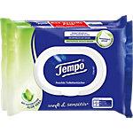 Papier toilette humide Tempo Aloe Vera 2 Unités de 42 Feuilles