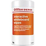 Lingettes tableau blanc interactif Office Depot 70 Feuilles