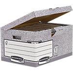 Boîte de classement Fellowes System System Gris, blanc 94.3 x 54.5 x 29.3 cm 10 Unités