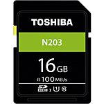 Carte mémoire SDHC Toshiba N203 16 Go