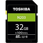 Carte mémoire SDHC Toshiba N203 32 Go