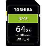 Carte mémoire SDXC Toshiba N203 64 Go