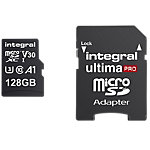 Carte mémoire micro SDXC Integral V30 128 Go