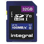 Carte mémoire SDHC Integral V10 32 Go