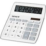 Calculatrice de bureau GENIE 840 S 10 chiffres Argenté