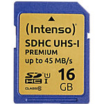Carte mémoire SDHC Intenso 16GB SDHC 16 Go