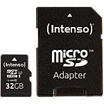 Carte microSDHC Intenso 32GB microSDHC 32 Go