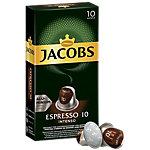 Capsule de café ESPRESSO 10 INTENSO Jacobs 10 Unités de 5.2 g