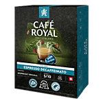 Café Espresso Decaffeinato CAFÉ ROYAL 36 Unités